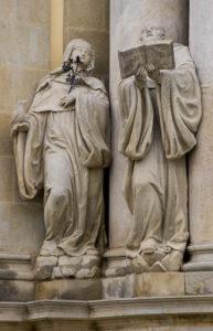 św. Scholastyka i św. Benedykt